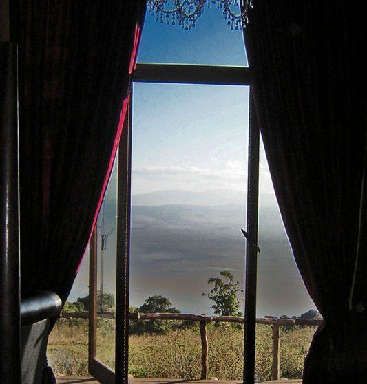 La vue depuis une chambre