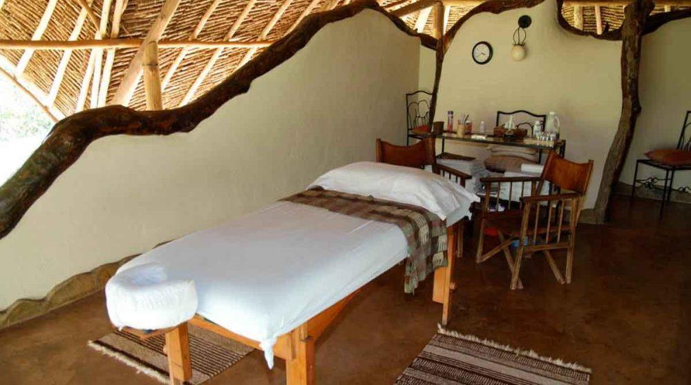 Le salle de massage