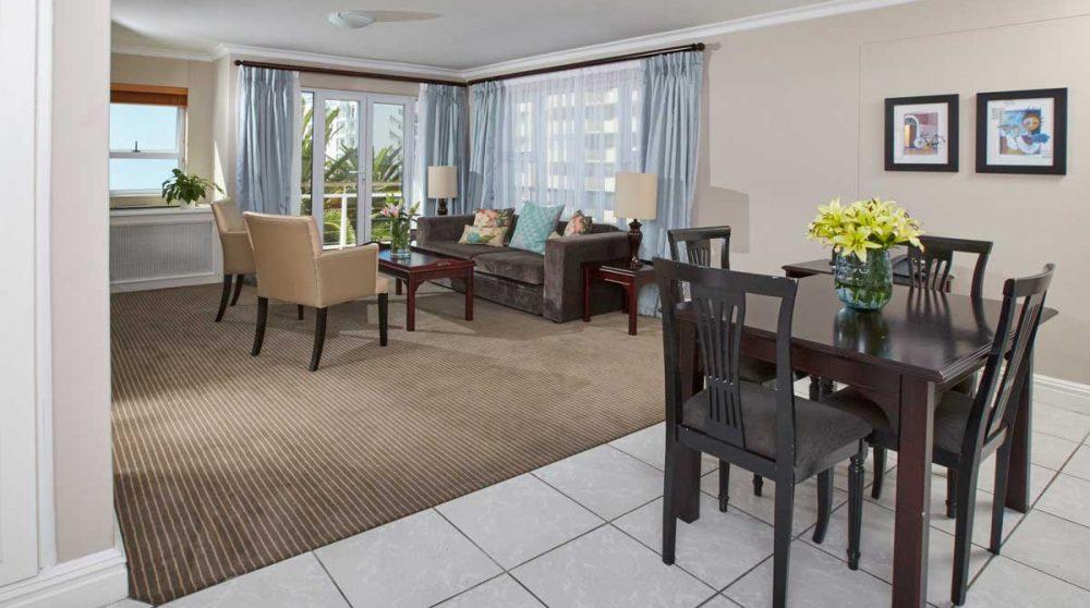 Le salon du Bantry Bay Suite Hotel