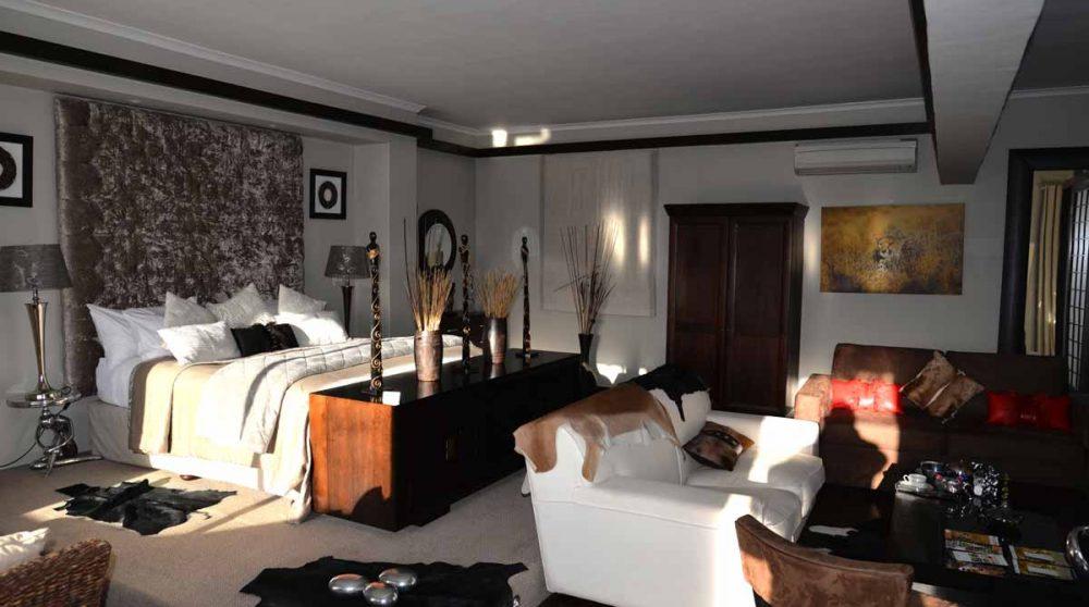 L'espace de l'Ambassador Suite en Afrique du Sud