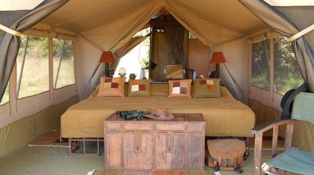 Une autre tente dans le Masai Mara