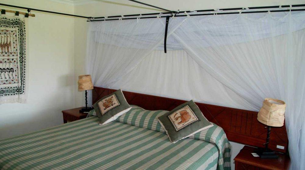 Autre vue d'une chambre dans le Masai Mara