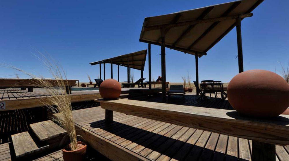 Autre vue de la terrasse à Namib