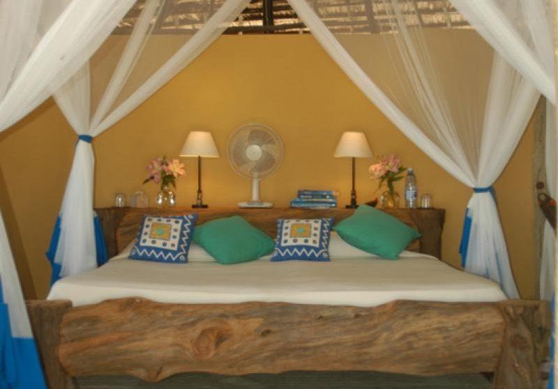 Une chambre sur l'île de Lamu