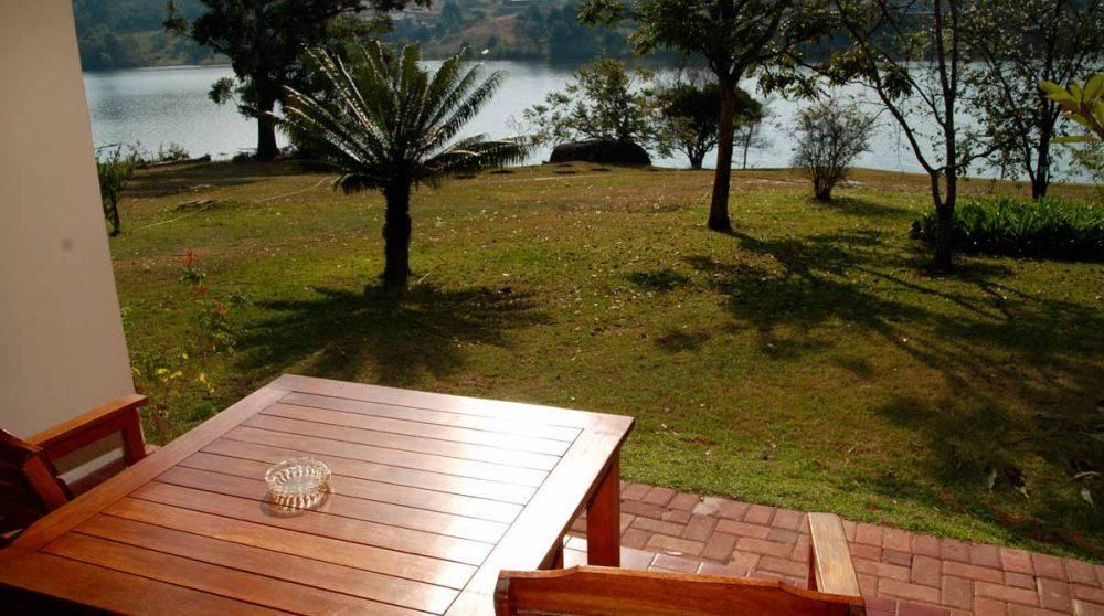 La terrasse d'une suite à Mpumalanga