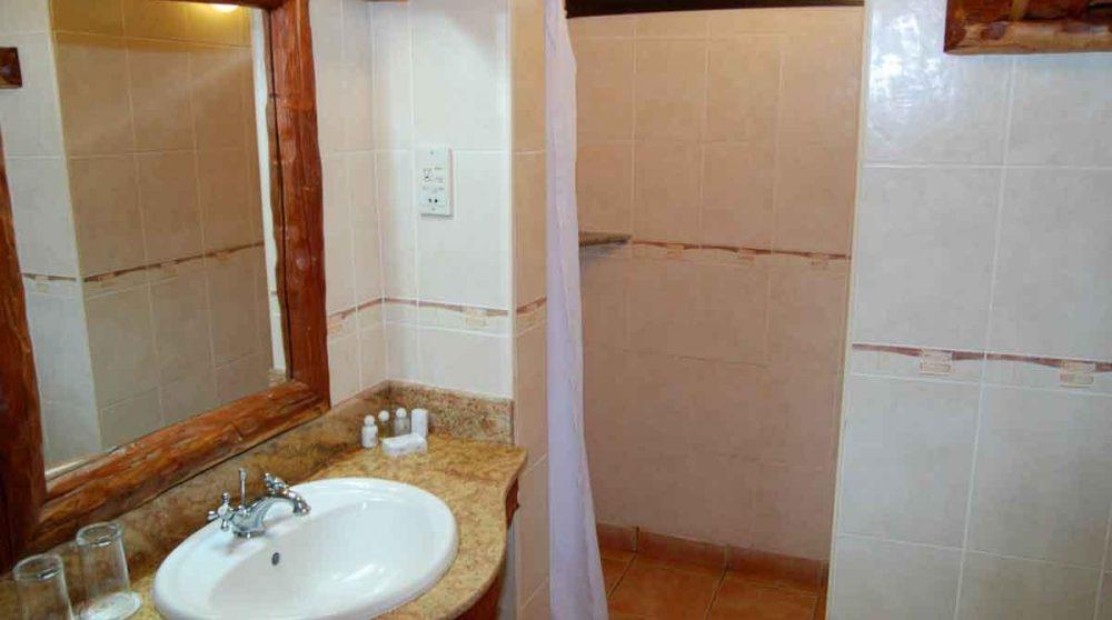 La salle de bains au Lac Nakuru