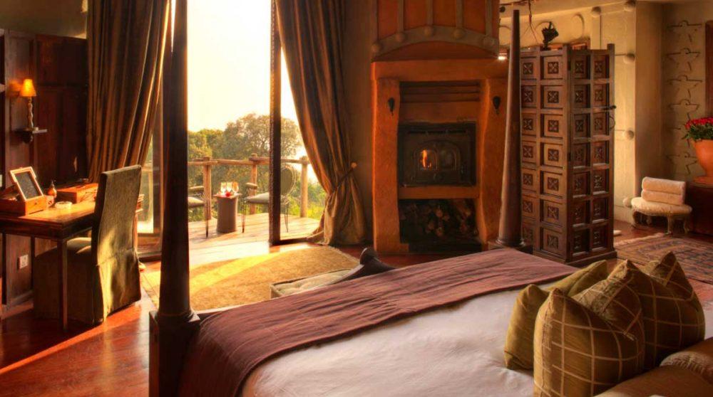 Autre vue d'une chambre au cratère du Ngorongoro