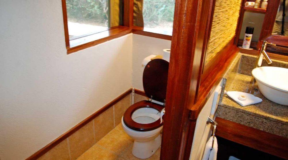 Les toilettes à Samburu