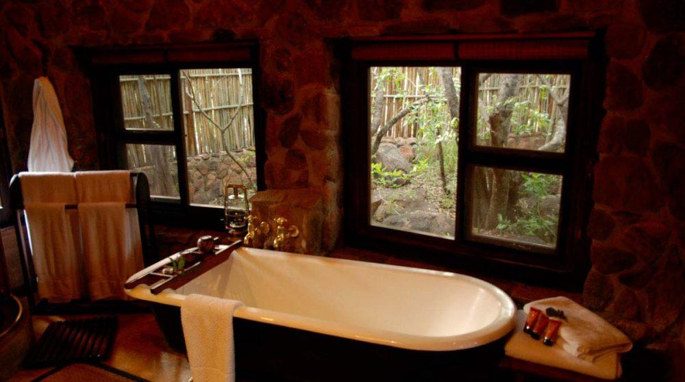 La baignoire près du Welgevonden Private Game Reserve