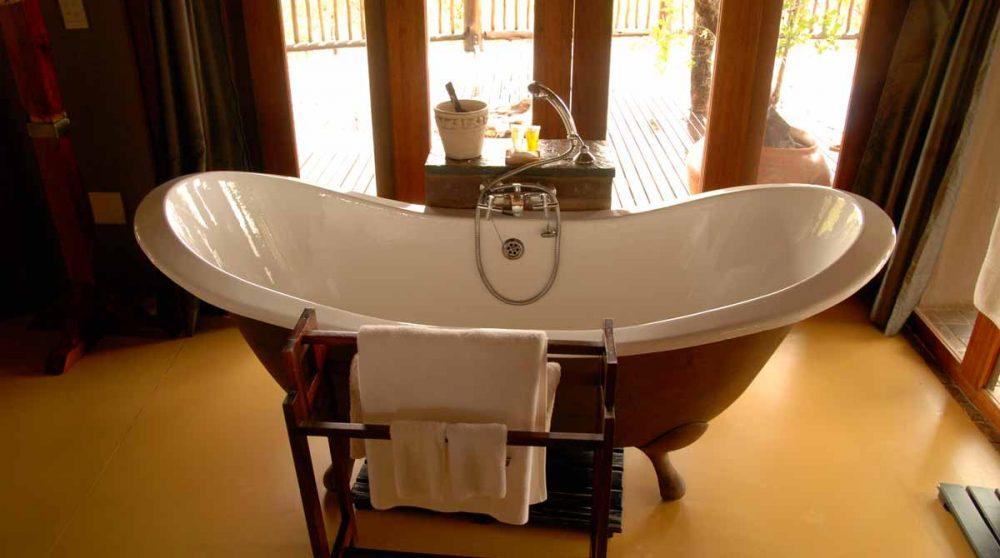 La baignoire à Madikwe