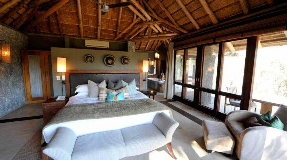 Autre vue d'une chambre à Sabi Sand