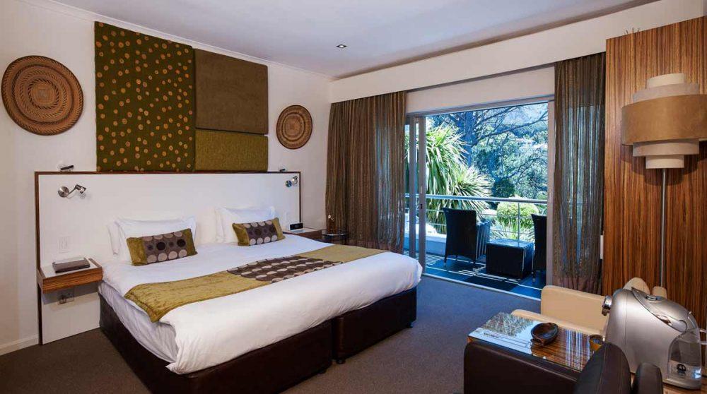Chambre luxury de l'hôtel au Cap