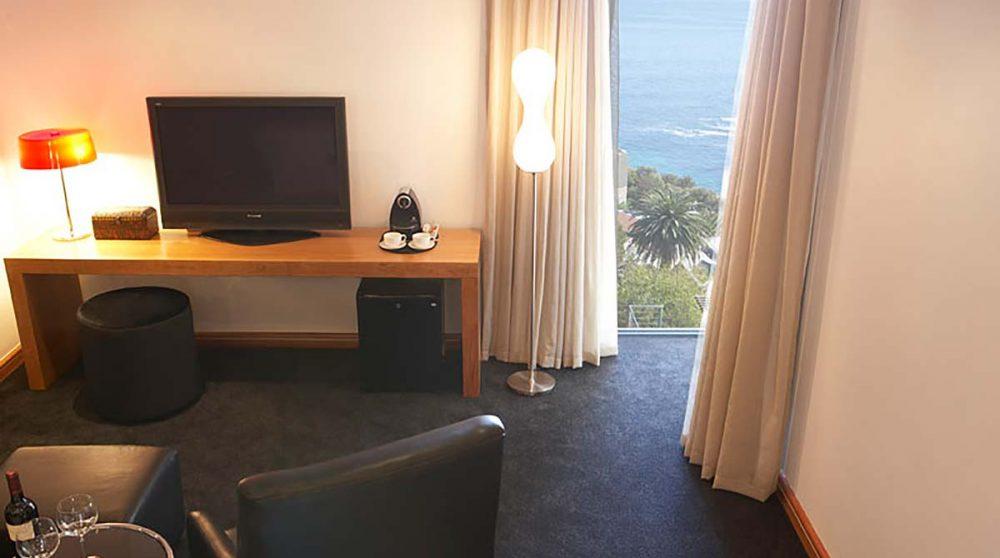 Autre vue d'une chambre standard au Cap