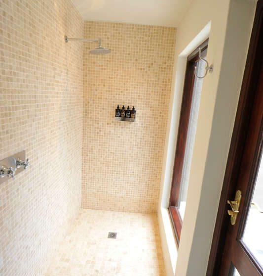 La douche à Sabi Sand