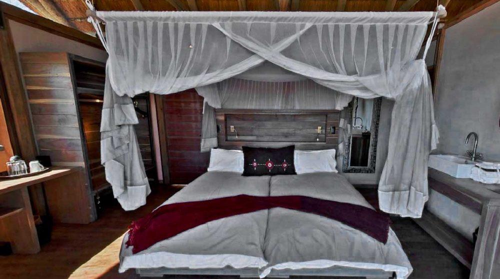 Une chambre au camp à Etosha