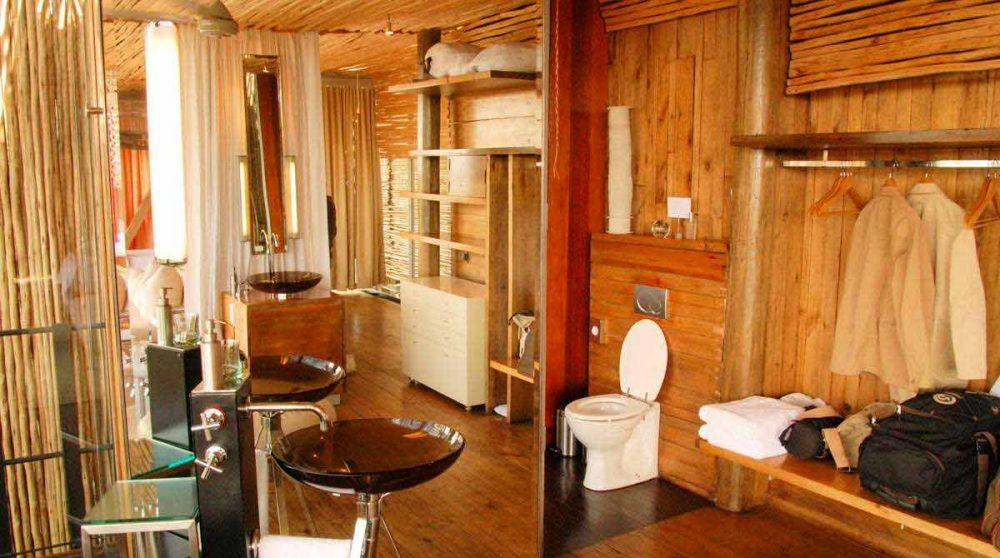 La salle de bains au parc Kruger