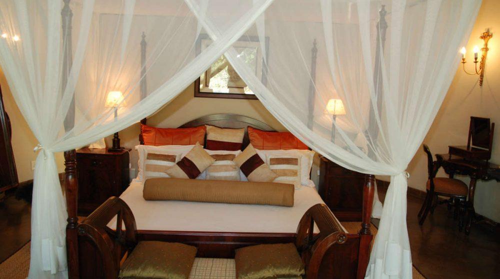 Lit dans une Honeymoon suite en Afrique du Sud