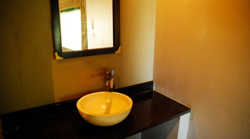Lavabo dans la salle de bains dans le Kwazulu Natal