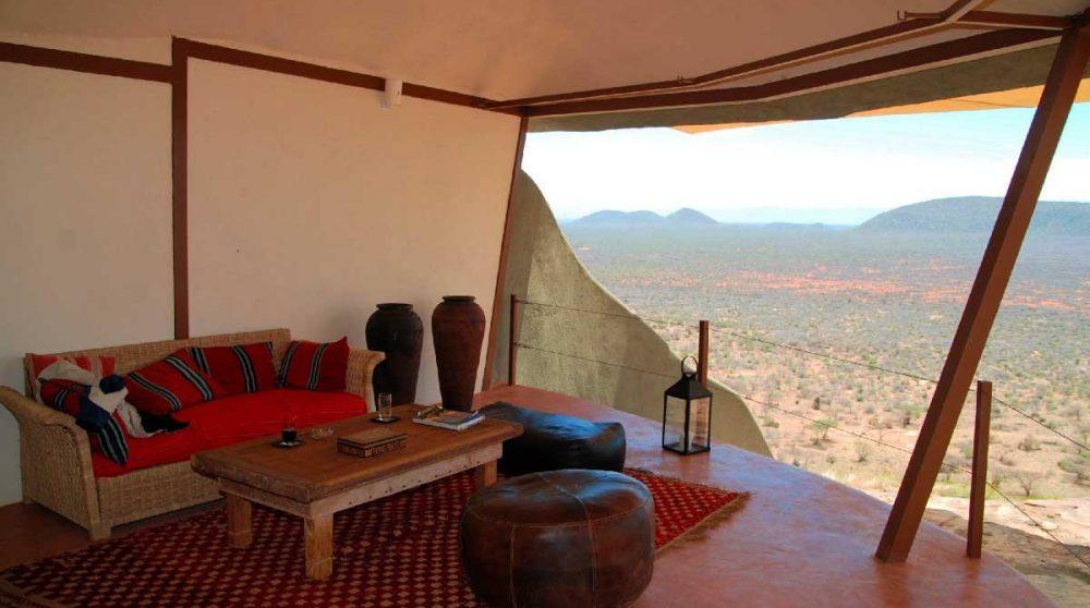 Un salon à Samburu