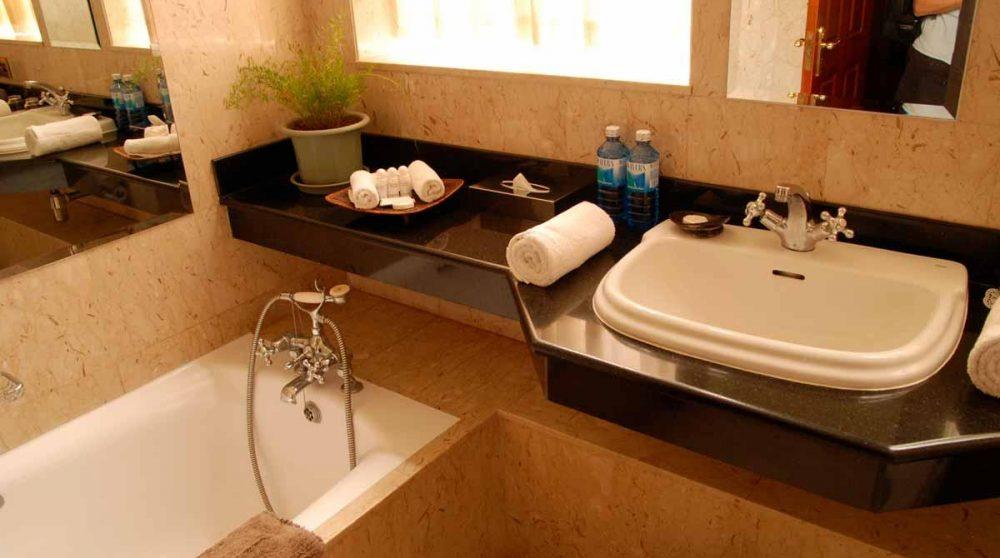 La salle de bains à Nairobi