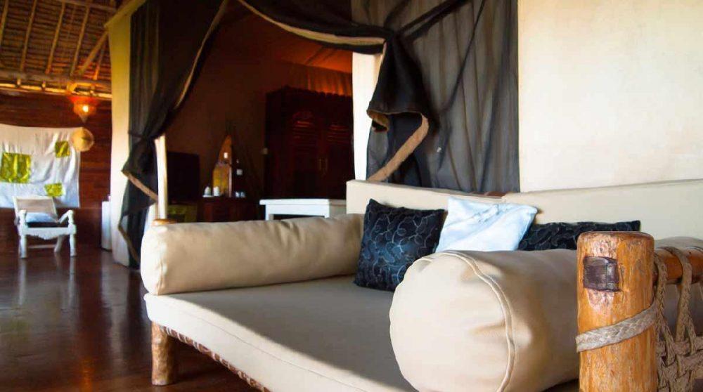 Canapé dans la suite à Mombasa