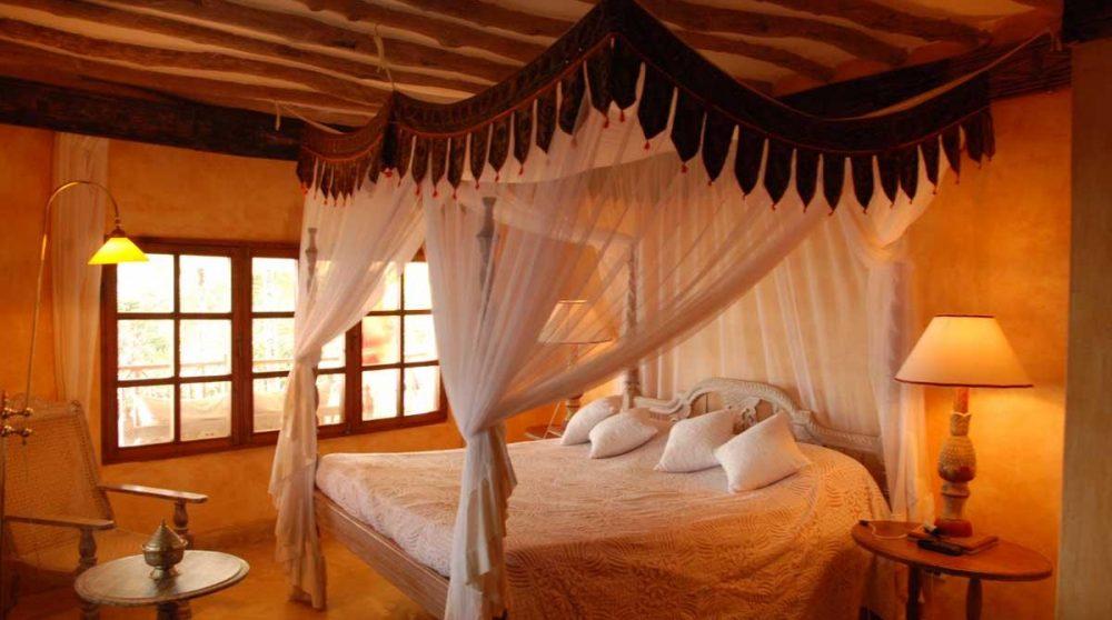 Une chambre de l'hôtel à Mombasa
