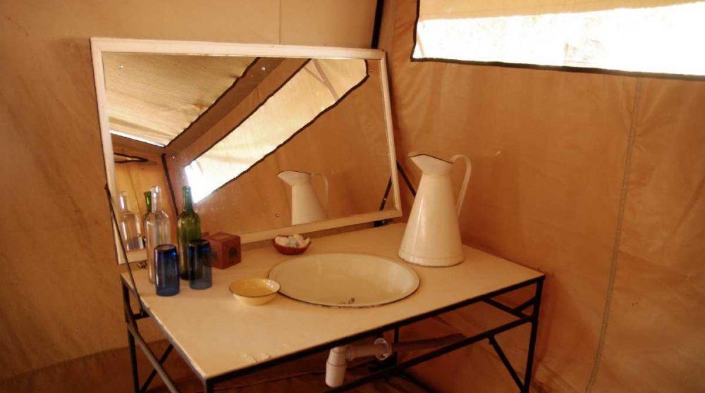 Espace pour la toilette au Meru National Parc