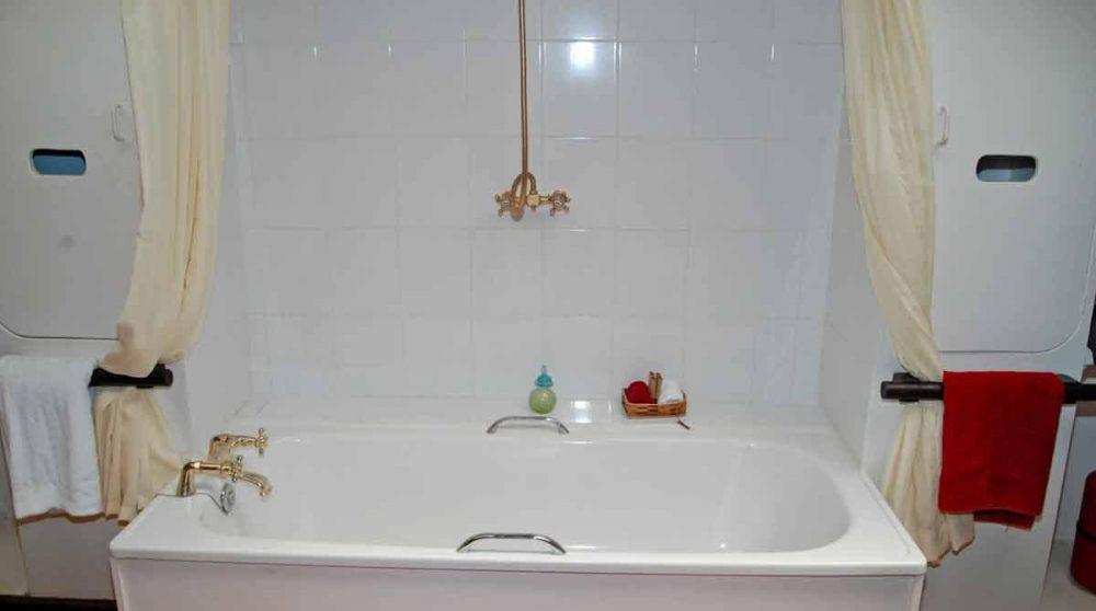 La baignoire au Kenya