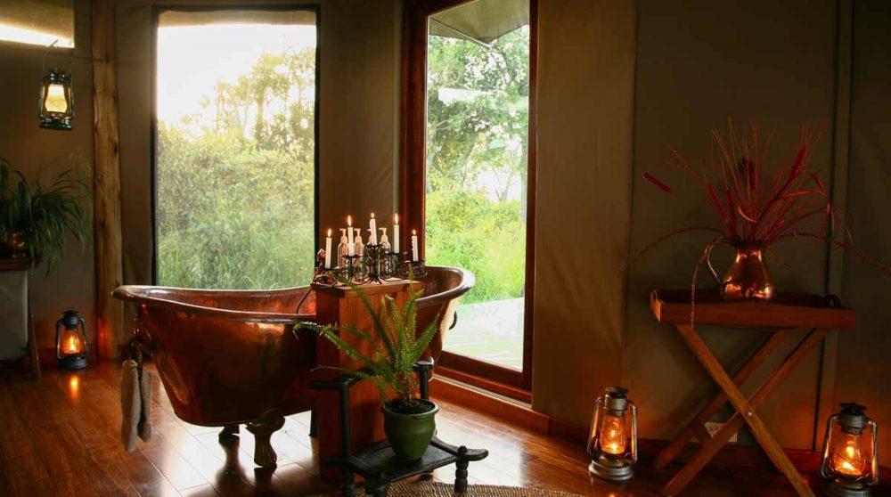 La tente Honeymoon dans le Masai Mara