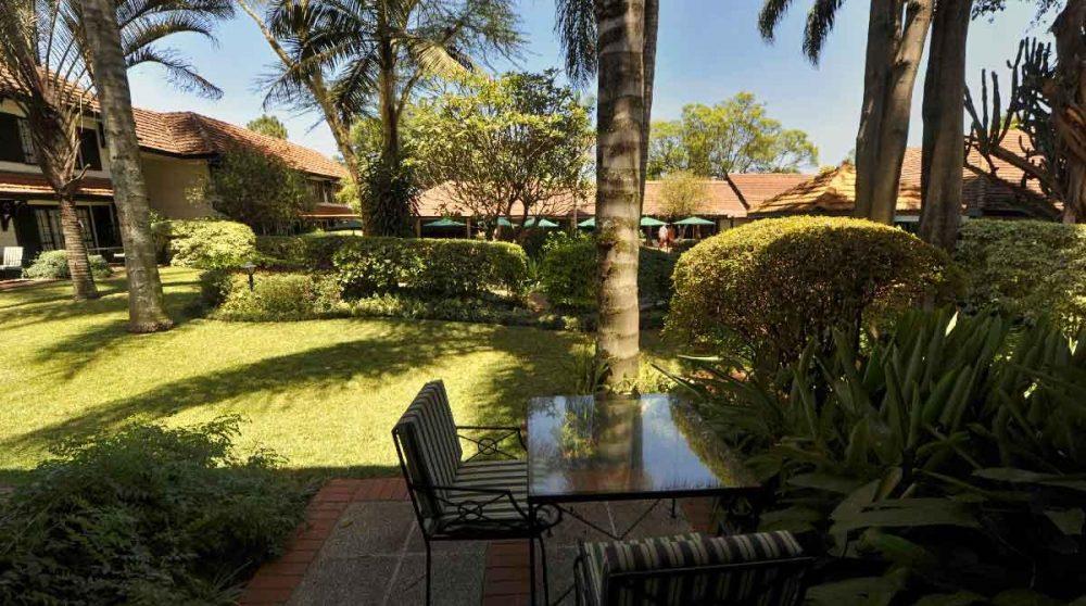 Terrrasse d'une Executive room à Nairobi