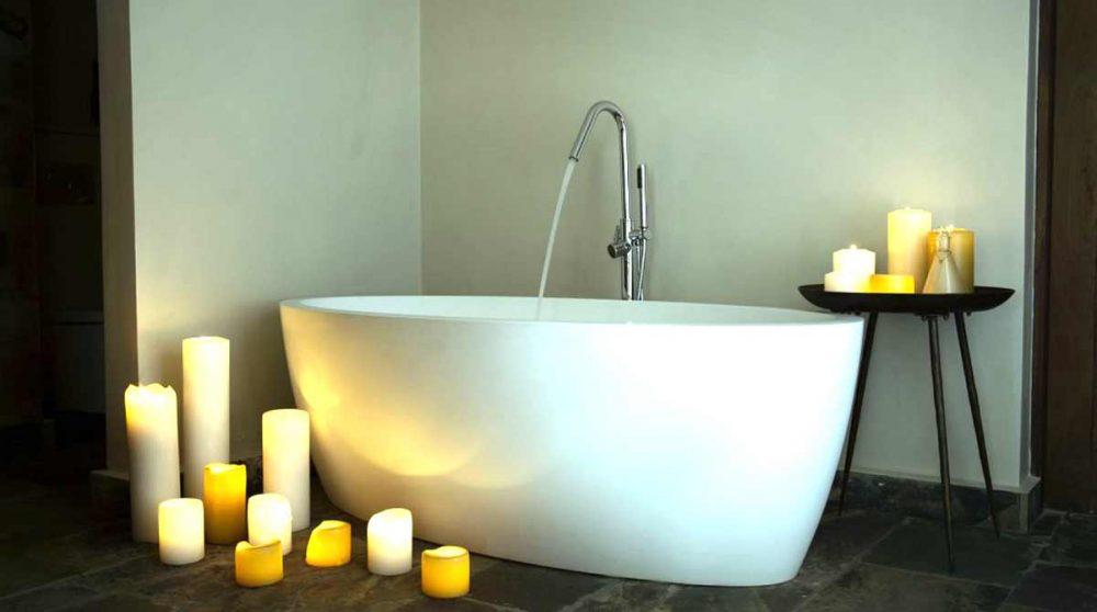 Sa baignoire à Arusha