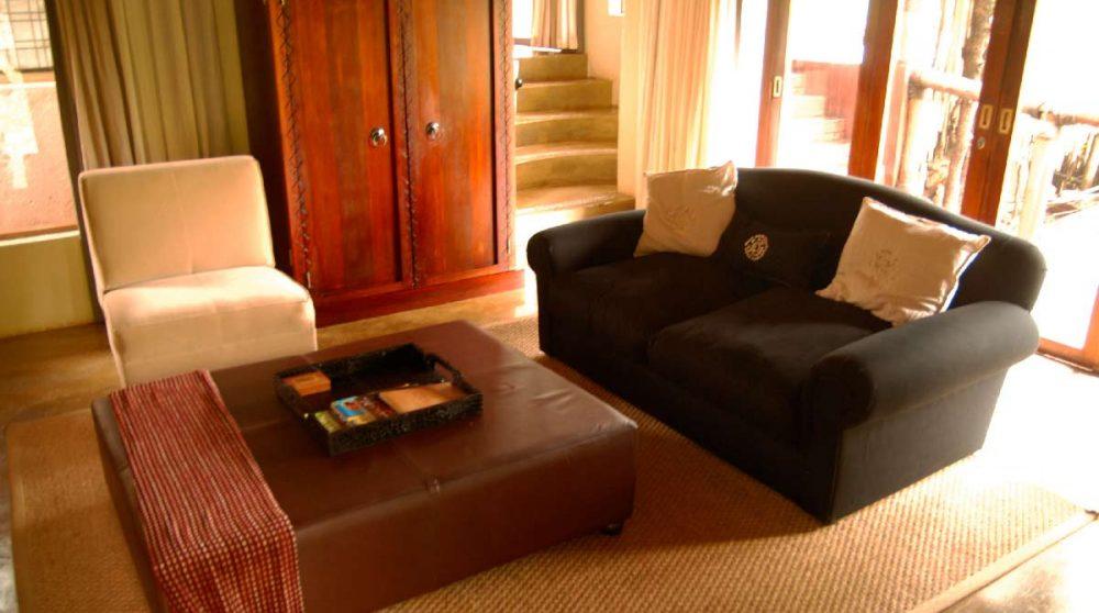 Le salon dans une suite