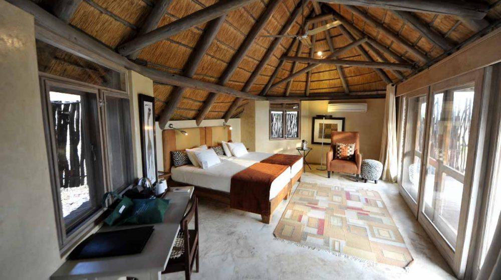 Une chambre de l'hôtel
