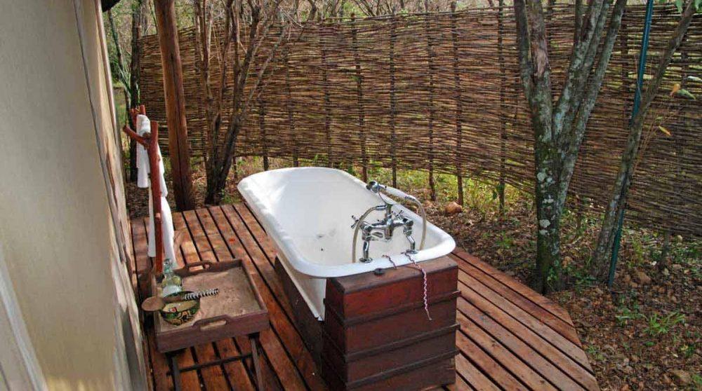 La baignoire extérieure