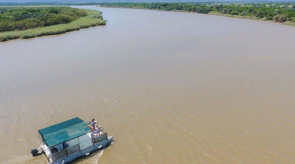 Exploration du parc iSimangaliso en bateau