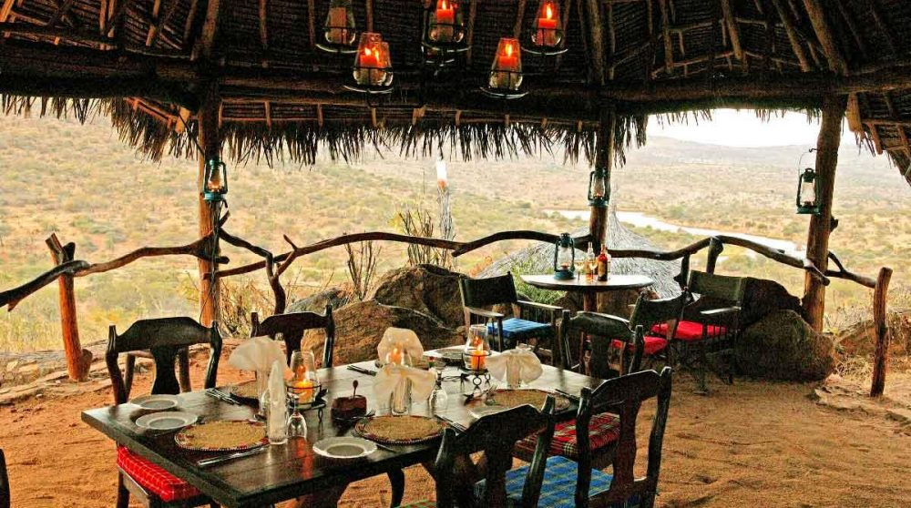 Déjeuner au Loisaba Star Beds