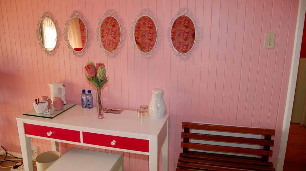 Bureau dans une chambre du Graskop Hotel