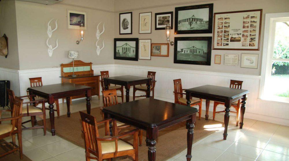 La salle à manger du Kirkmans Camp