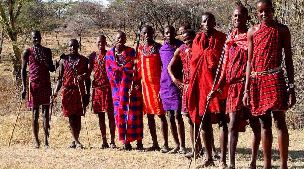 Les Masaïs au Mara Porini Camp