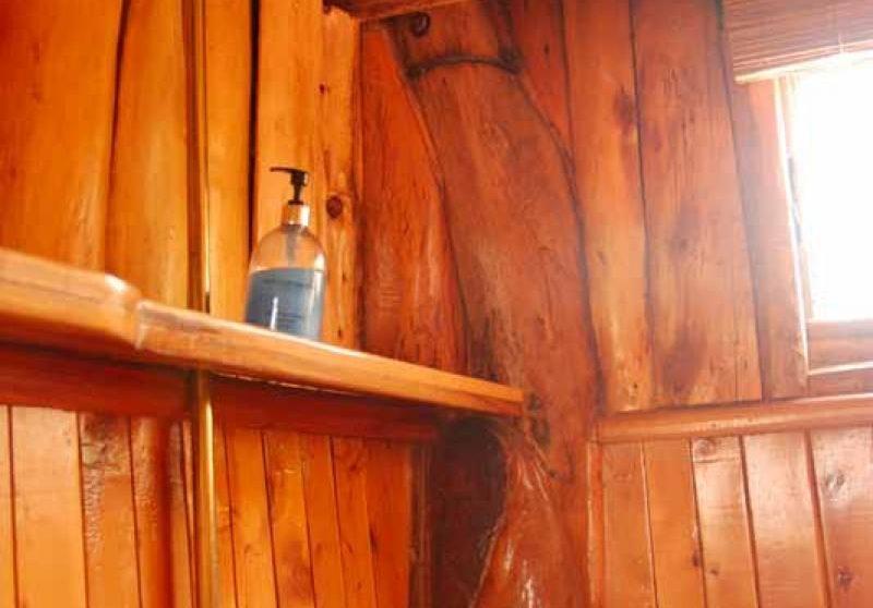 Une douche à l'hôtel Ngong House