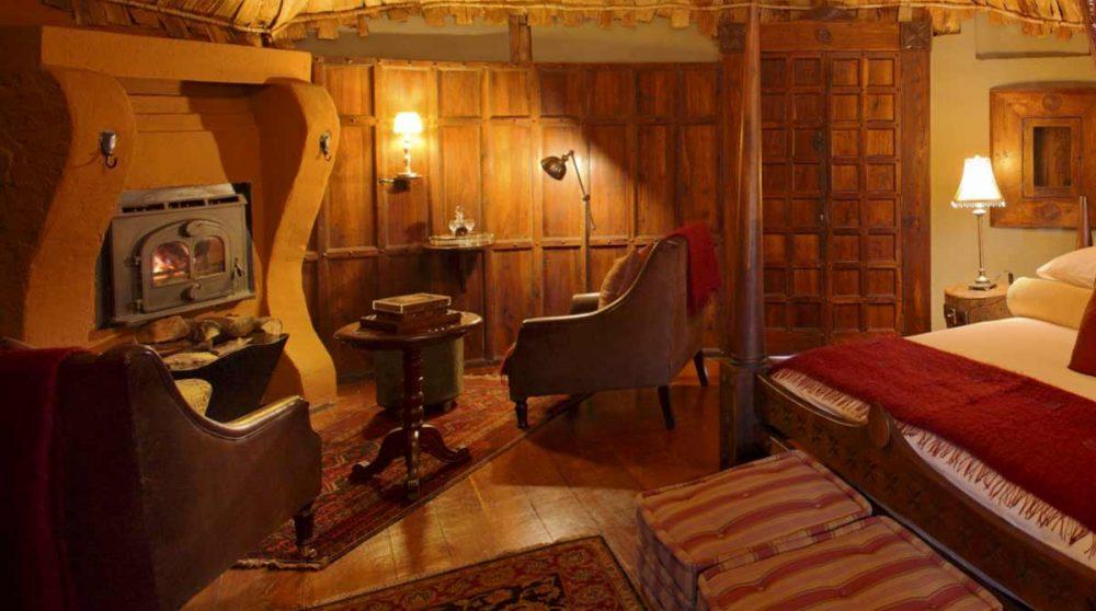Une chambre du Ngorongoro Cratère Lodge