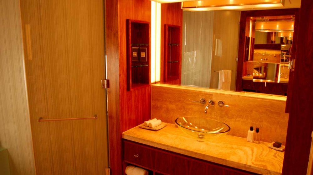 Salle de bains dans une suite de l'hôtel One and Only Cape Town