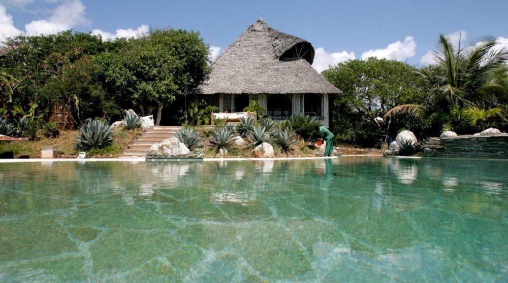 Une private villa du Msambweni House