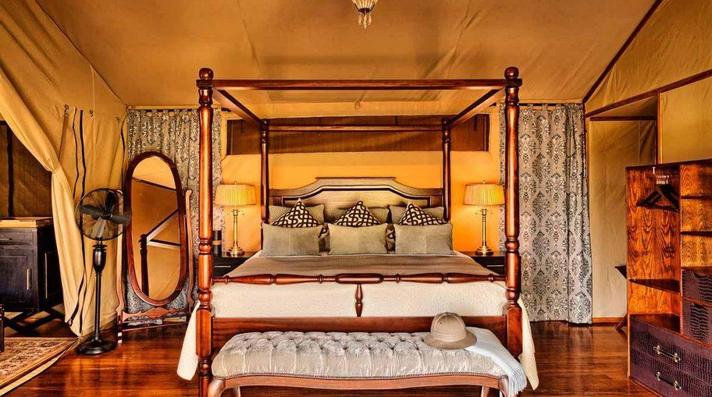 Le lit du Sand River Masai Mara