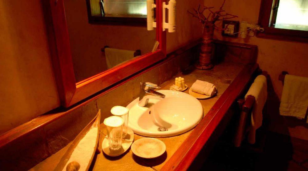 La salle de bains d'un cottage au Sands at Nomad