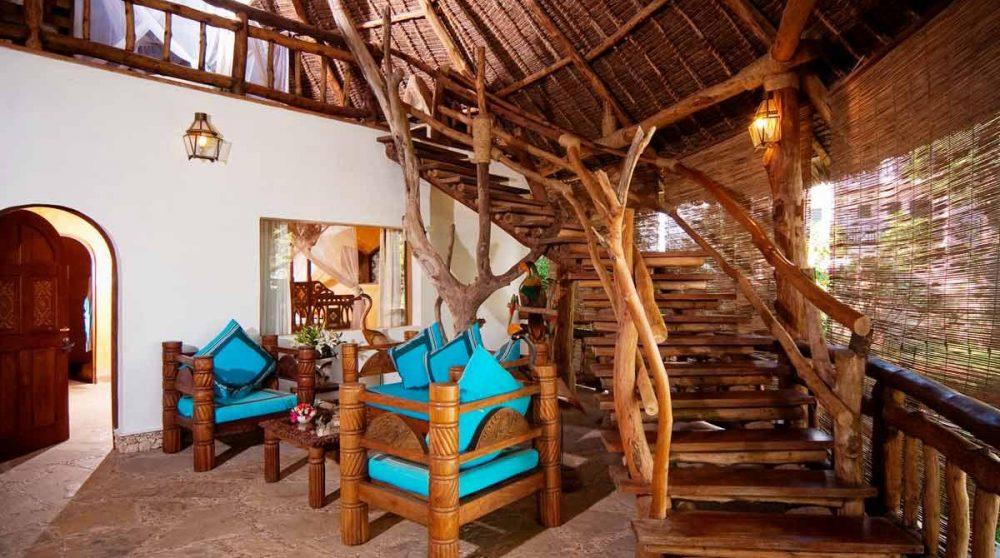 Intérieur d'une villa au Waterlovers