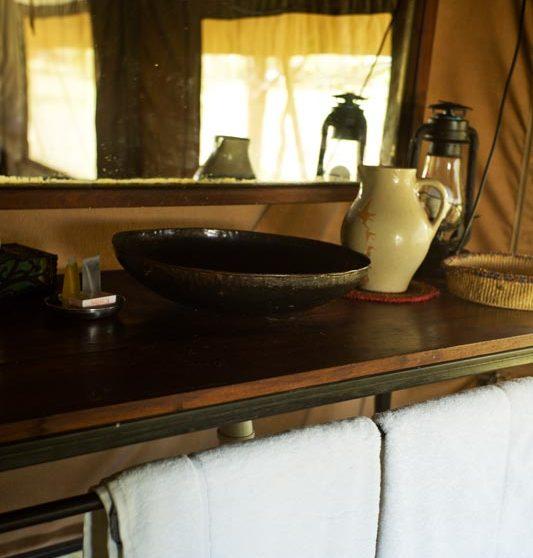La salle de bains en Tanzanie