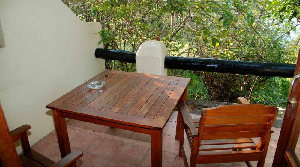 Le balcon en Afrique du Sud