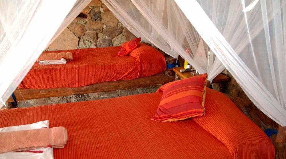 Une autre chambre de l'hôtel au Kenya