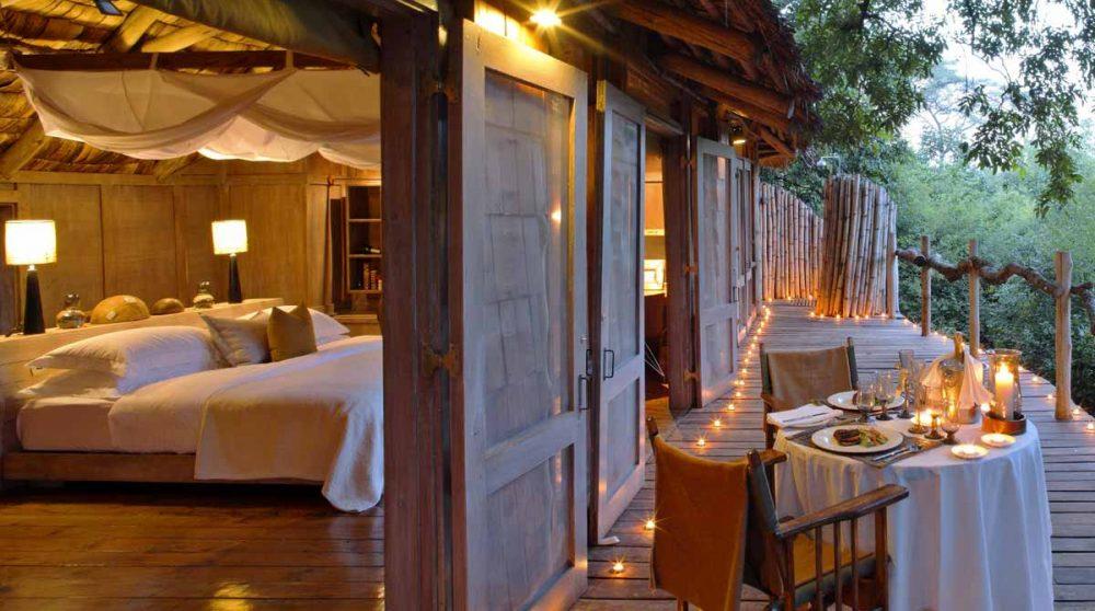 Une soirée sur le balcon en Tanzanie